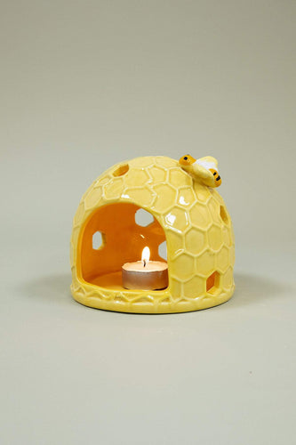 Carraig Donn HOME Ornaments Honeycombe Ceramic Votive