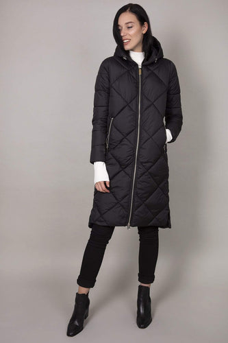 Rowen Avenue Jackets Black / S Hood Puffer Jacket in Black