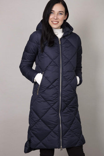 Rowen Avenue Jackets Navy / S Hood Puffer Jacket in Navy