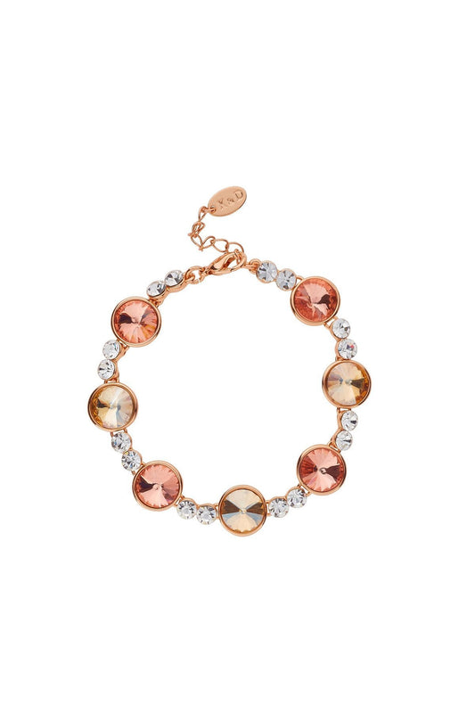 Knight & Day Bracelets Rose Gold Isabela Light Peach Bracelet