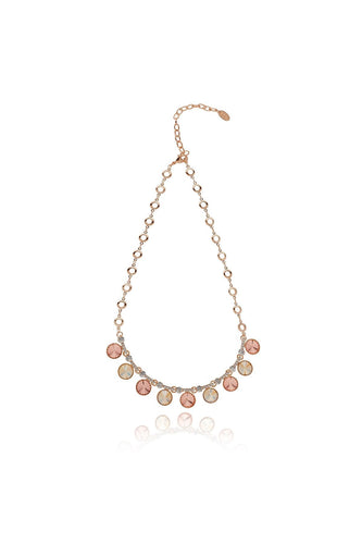 Knight & Day Necklaces Rose Gold Isabela Light Peach Necklace
