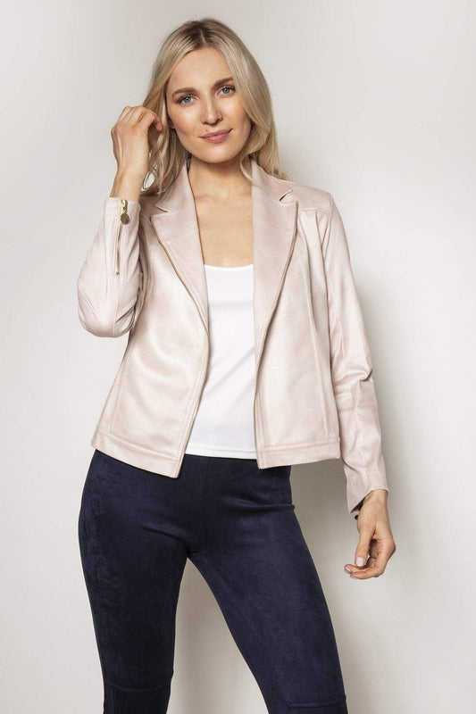 J'aime la Vie Jackets Beige / 10 Jacket in Cream