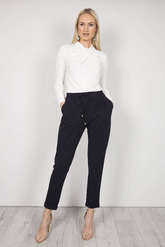 Pala D'oro Trousers Navy / S Jogger Trousers in Navy