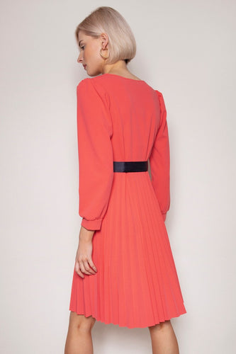Pala D'oro Dresses Laoise Dress in Coral