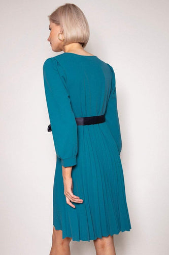 Pala D'oro Dresses Laoise Dress in Teal