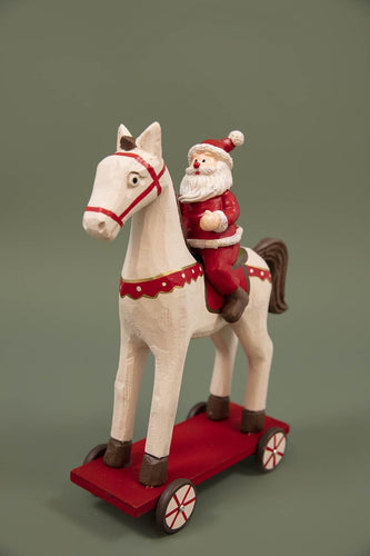 Carraig Donn HOME - Christmas Christmas Decorations Large Wooden Horse
