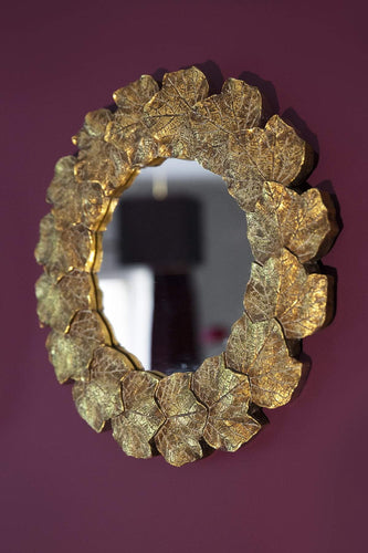 Carraig Donn HOME Mirrors Leaf Round Mirror