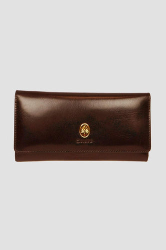Oriano Purses Brown Leah Wallet in Brown