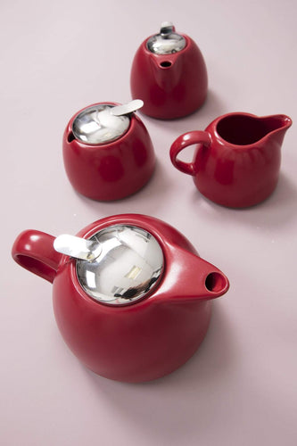 Carraig Donn HOME Sugar Pots Leib Sugar Pot in Red