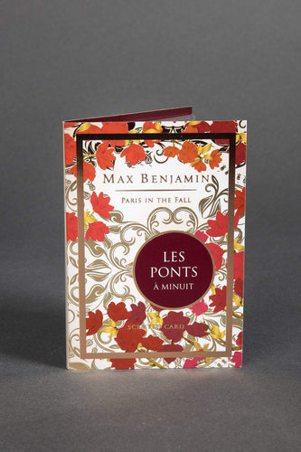 Max Benjamin Diffusers One Size Les Ponts a Minuit Luxury Scented Card