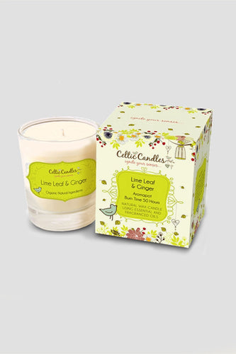 Celtic Candles Candles Lime Leaf and Ginger Aromapot Tumbler 20cl