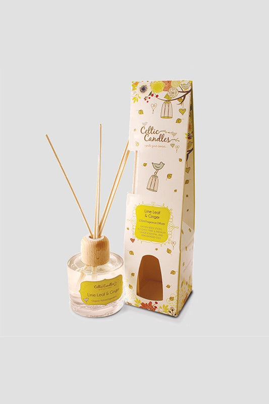 Celtic Candles Diffusers Lime Leaf and Ginger Fragrance Diffuser 120ml