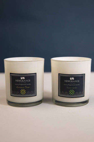 Newgrange Candles Luxury Candle Jar Set of 2