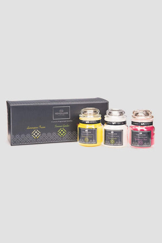 Newgrange Candles Luxury Fragrance Small Candle Jar Set of 3