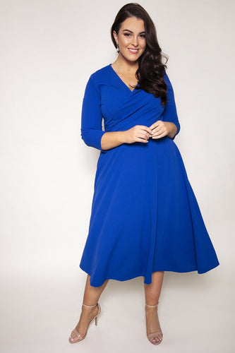 J'aime la Vie Dresses Maeve Dress in Royal Blue