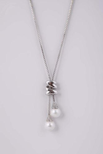 Knight & Day Necklaces Silver Mariam Necklace