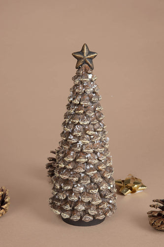 Carraig Donn HOME Christmas Ornaments Medium Pine Cone Tree