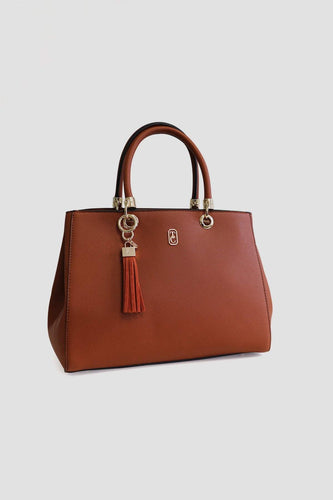 Tipperary Crystal Bags Bags Brown Milano Tote Bag in Brown