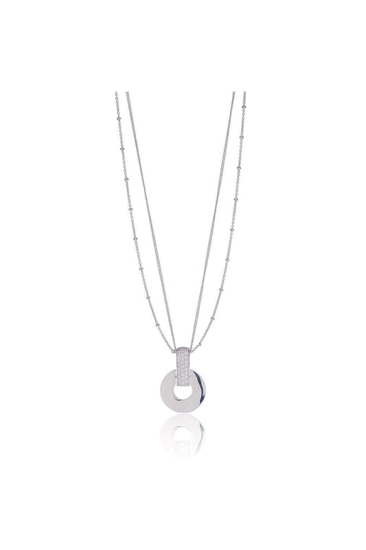 Knight & Day Necklaces Silver Mimosa Necklace