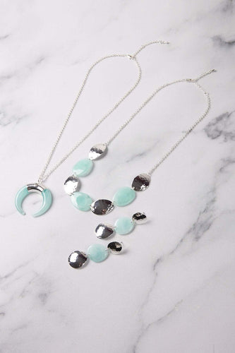 Knight & Day Necklaces Silver Mina Turquoise Necklace
