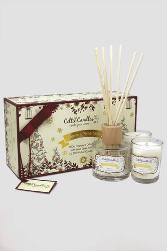 Celtic Candles Gift Sets Mini Gift Set Cinnamon & Winter Berries