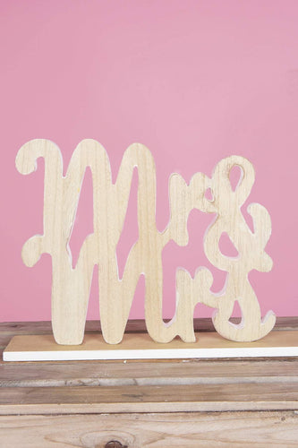 Carraig Donn HOME Plaques Mr & Mrs Wooden Sign