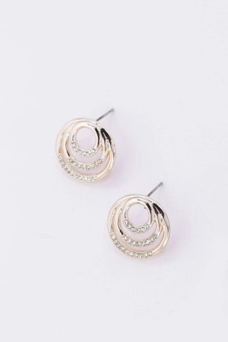 Soul Jewellery Earrings Silver Multi Circle Earrings