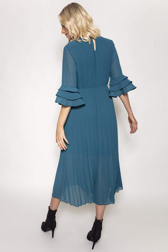 Pala D'oro Dresses Orla Dress in Teal