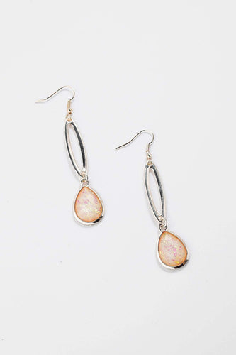 Soul Jewellery Earrings Rose Gold Pink & Rose Gold Drop Earrings