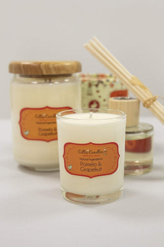 Celtic Candles Candles Pomelo and Grapefruit Large Pop Jar