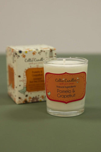 Celtic Candles Candles Pomelo & Grapefruit Celtic Votive 9cl