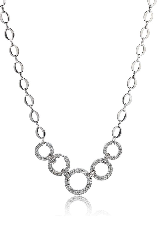Knight & Day Necklaces Default Title / Silver Pomona Necklace