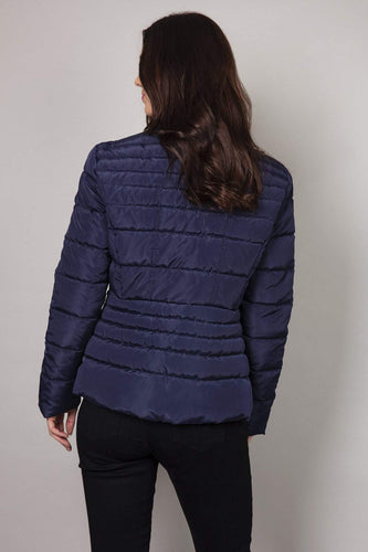 Kelly & Grace Weekend Jackets Puffa Jacket in Navy