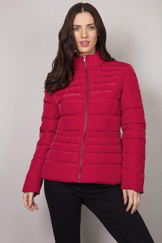 Kelly & Grace Weekend Jackets Red / 8 Puffa Jacket in Red