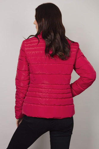 Kelly & Grace Weekend Jackets Puffa Jacket in Red