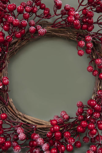 Carraig Donn HOME Christmas Garlands & Wreaths Red Berry Wreath