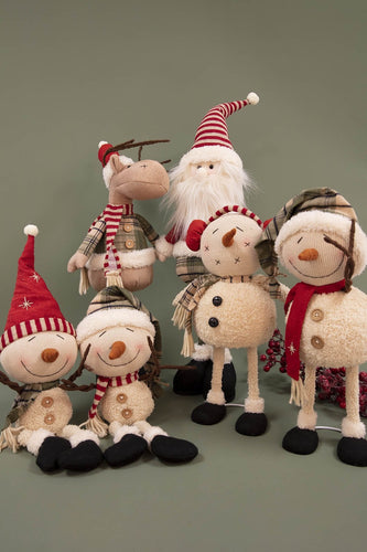 Carraig Donn HOME Christmas Decorations Red Hat Snowman Sitter