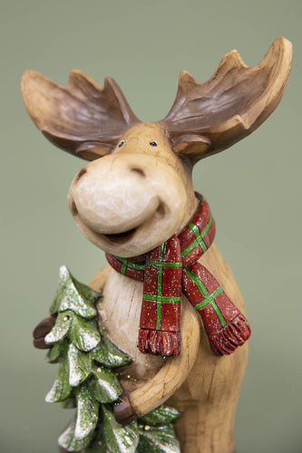Carraig Donn HOME Christmas Ornaments Reindeer with Tree