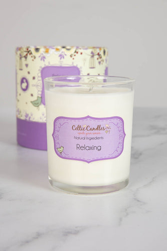 Celtic Candles Candles Relaxing Aromapot Round Tumbler 20cl