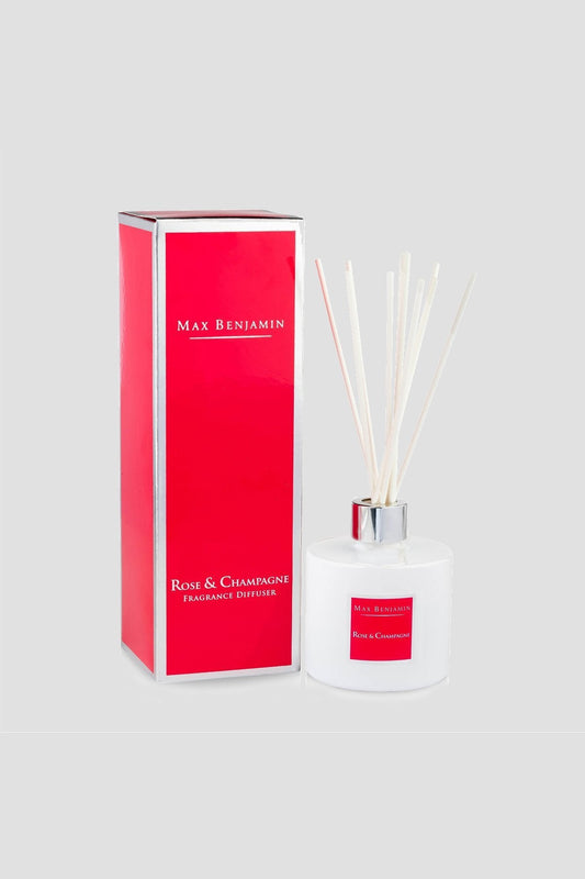 Max Benjamin Diffusers One Size Rose & Champagne Diffuser 150ml