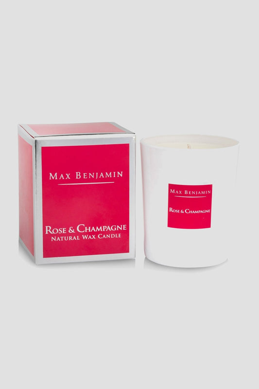 Max Benjamin Candles One Size Rose & Champagne Scented Candle