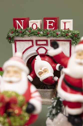 Carraig Donn HOME Christmas Ornaments Santa in Chimney