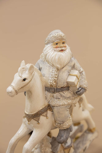 Carraig Donn HOME Christmas Ornaments Santa on Horse