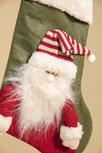 Carraig Donn HOME Christmas Decorations Santa Stocking