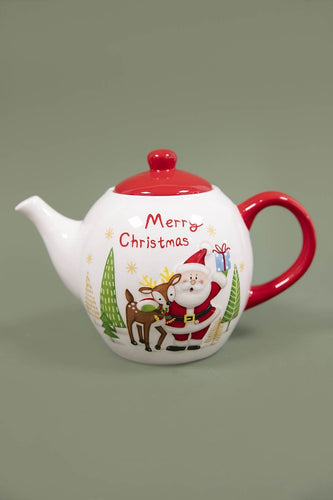 Carraig Donn HOME Christmas Tableware Santa Tea Pot