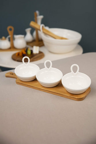 Carraig Donn HOME Kitchen accessories Set of 3 Dip Dishes on Tray