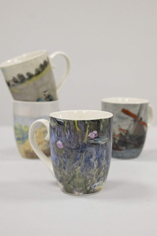 Tipperary Crystal Gift Mugs Set of 4 Monet Mugs
