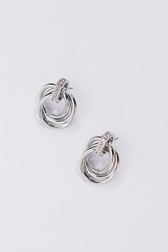 Soul Jewellery Earrings Silver Silver Twist Earrings