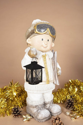 Carraig Donn HOME Christmas Ornaments Sky Boy with Lantern