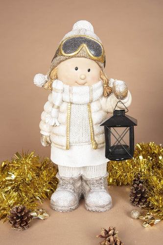 Carraig Donn HOME Christmas Ornaments Sky Girl with Lantern